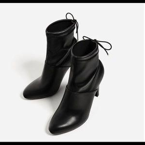Zara ankle booties size 10 (EU 41)